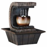 Ore International Earth-tone Meditation Fountain | Overstock.com
