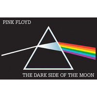 Pink Floyd Blacklight Poster