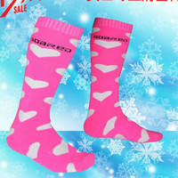 SOARED New Winter Thermal Ski Socks Cotton Sport Snowboard Cycling Socks Thermosocks Leg Warmers For Women Eu Size 36-40