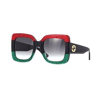 GUCCI Popular Ladies Summer Sun Shades Eyeglasses Glasses Sunglasses I