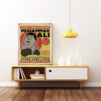 MUHAMMAD ALI - 'The GREATEST' - Unique Poster. Limited Edition Print