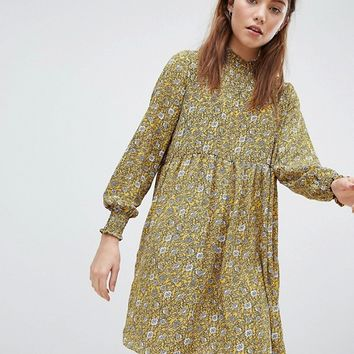 JDY Ditsy Printed Smock Dress at asos.com