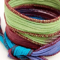 Multi Colored Yoga Wrap Bracelet