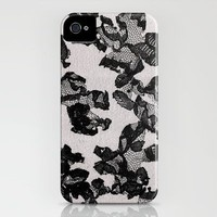 Bloom_Silver iPhone Case by Garima Dhawan | Society6
