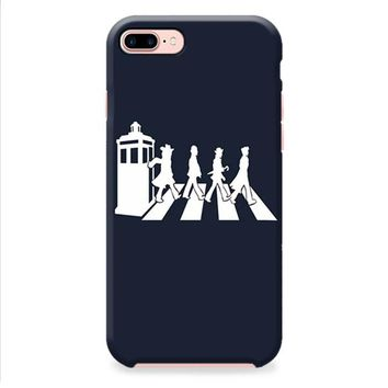 doctor who tardis the beatles abbey road iPhone 8 | iPhone 8 Plus Case