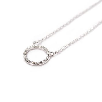 Pave Karma Necklace
