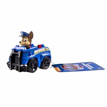 Genuine 1pc Paw Patrol lovely Anime Figurine Toys Patrol Puppy dog Doll Action Figure Model awed Children kids toys gift