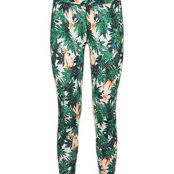 Contour 7/8 Workout Leggings - TropicalPrint | leggings | Sweaty Betty