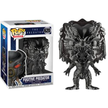 Funko POP! The Predator Movie: Gun Metal Chrome Fugitive Predator #620