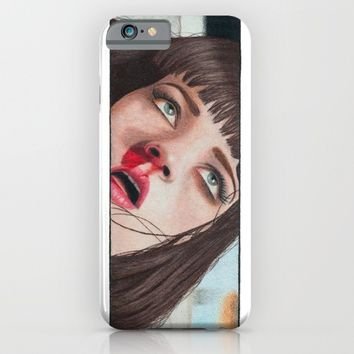 Mia Wallace iPhone & iPod Case by Tariana B. | Society6