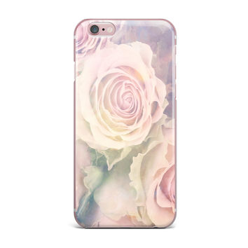 "Suzanne Carter ""Faded Beauty"" Blush Floral iPhone Case"