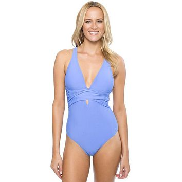 Strappy Bow Tied One-Piece Swimsuit