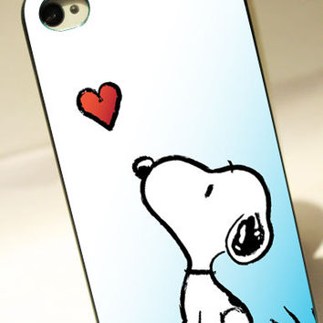 Snoopy  Love - for iPhone 4/4S case iPhone 5 case hard case hard cover