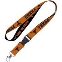 Texas Longhorns WinCraft Lanyard with Detachable Buckle