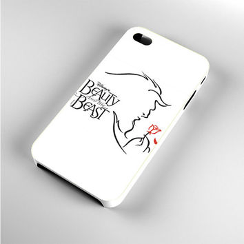 beauty and the beast musical logo iPhone 4s Case