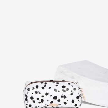Skinnydip London Dalmatian Makeup Bag