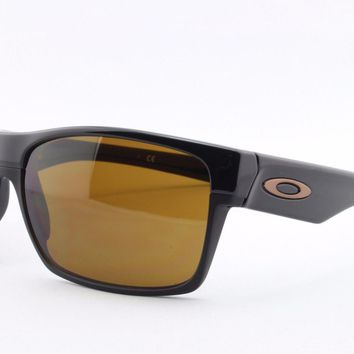 One-nice™ NEW Oakley Twoface 9189-03 Sports Surfing Golf Cycling Sailing Skate Sunglasses