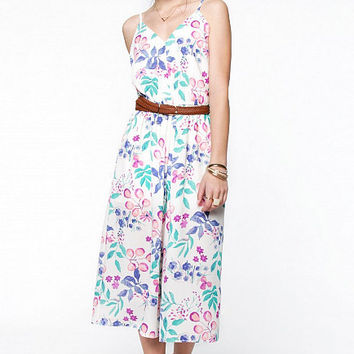 Pretty In Petals Jumpsuit - Pink