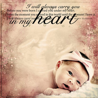Ultrasound Newborn Baby Nursery Decor Photo Art Custom Photo Editing