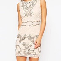 Maya Petite Embellised Shift Dress