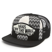 Vans Plaid Attendance Trucker Hat at PacSun.com