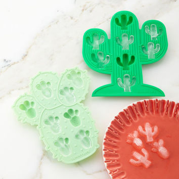 Sunnylife Cactus Ice Trays, Set of Two | Neiman Marcus