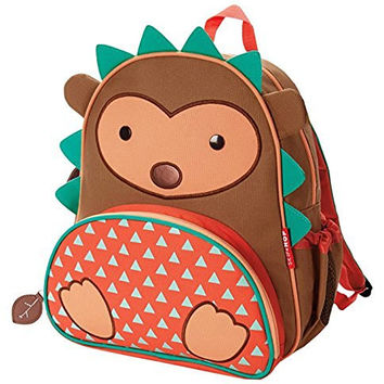 Skip Hop Zoo Pack Little Kid Backpack, Hedgehog
