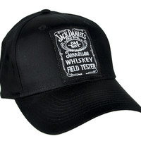 Jack Daniels Whiskey Field Tester Hat Baseball Cap Alternative Clothing