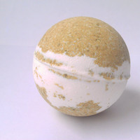 Bath Bomb Vanilla Supreme Mega Size, Bath Bomb All Natural, Gift Ideas, Vanilla Bath Bomb, 5.5 oz