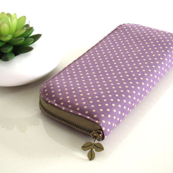 HANDMADE ZIPPER WALLET, Zippered wallet, Handmade women's wallet, Smartphone wallet, Long wallet, Custom wallet, Fabric wallet, Phone wallet