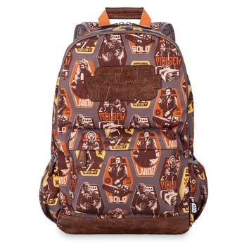 Licensed cool Disney Store Solo: A Star Wars Story Backpack for Adults Laptop Pocket 18x15 1/2