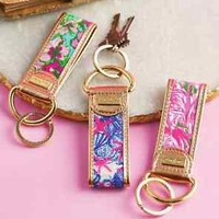 Lilly Pulitzer Key Fob Keychain Key Chain Authentic 2015 Spring Line Gift Box