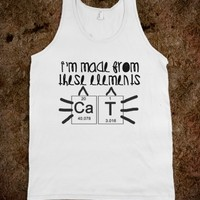 made from these elements tank