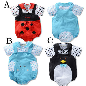 Kids Boys Girls Baby Clothing Toddler Bodysuits Products For Children = 4457409348