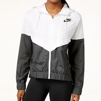 Nike Wind Runner Colorblocked Jacket - Jackets & Blazers - Women - Macy's