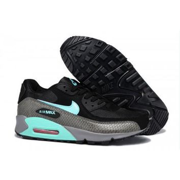 Nike Air Max 90 PRM Men s Women s Shoes Black Mint