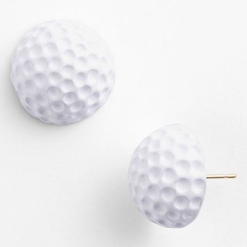 kate spade new york 'on par' golf ball stud earrings | Nordstrom