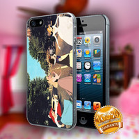 All Disney Princess Taking a Tour on The Classic Abbey Road - Print on hard plastic case for iPhone case. Select an option