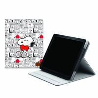iLuv Peanuts Folio Case for iPad 2/3 (Snoopy Hearts) (iCP833CWHT)