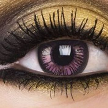 Big Eyes 15mm Passionate Purple Contact Lenses, Big Eyes 15mm Passionate Purple Contacts | EyesBrigh