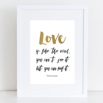 Love is like the wind -