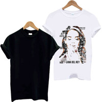 Lyrically Lana Del Rey design clothing for TShirt Mens and T Shirt Girls