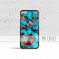 Turquoise Stone *Design Case Cover for Apple iPhone 4 4s 5 5s 5c 6 6s Plus & iPod Touch