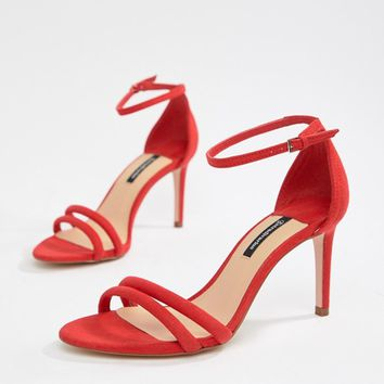 Stradivarius barely there sandal at asos.com