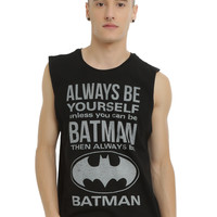 DC Comics Batman Be Yourself Muscle T-Shirt