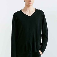 Your Neighbors Double Layer V-Neck Sweater-