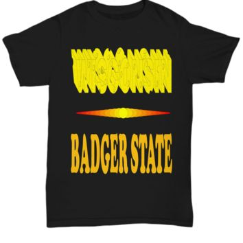 Wisconsin Badger State T-shirt