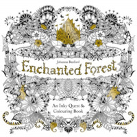 Johanna Basford: Enchanted Forest An Inky Quest & Coloring Book