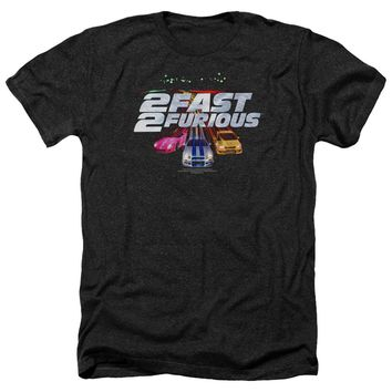 2 Fast 2 Furious - Logo Adult Heather