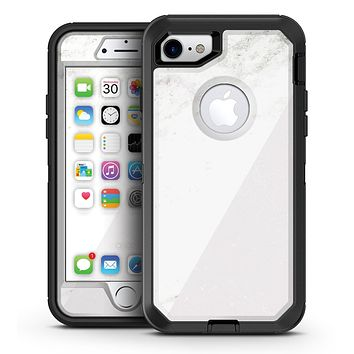 White and Neutral Marble Slab - iPhone 7 or 7 Plus OtterBox Defender Case Skin Decal Kit
